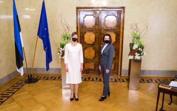 Представитель белорусской оппозиции Светлана Тихановская встретилась с Керсти Кальюлайд