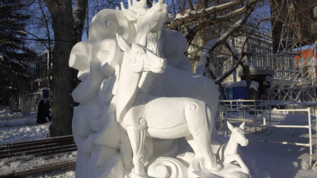Команда из Смоленска победила в международном фестивале снежной скульптуры
