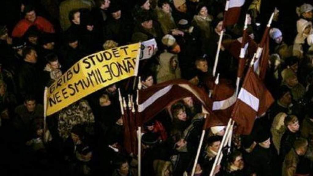 Погром с переворотом: что было в Вашингтоне 6 января и в Риге 13 января 2009