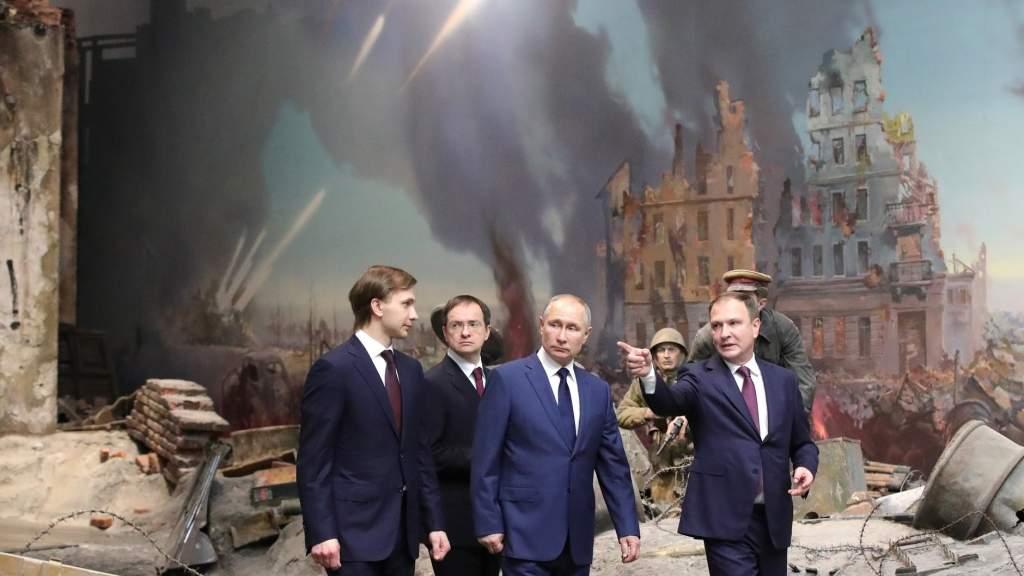 Президент запустил онлайн-проект о непокорённом Ленинграде