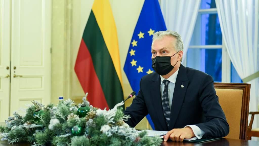 Руководство Литвы поздравляет православных с Рождеством