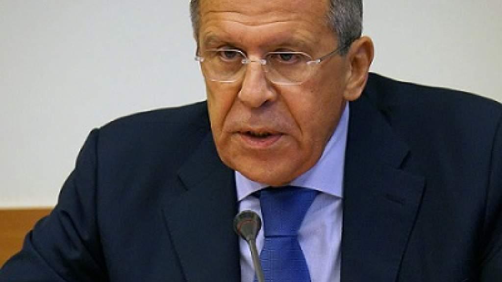 Глава МИД России Сергей Викторович Лавров проводит большую пресс-конференцию