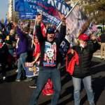 Сторонники Трампа решили провести шествие в день утверждения итогов выборов