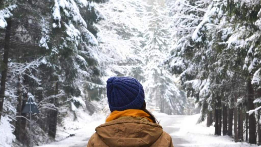 В пятницу во многих районах Латвии также пройдет снег