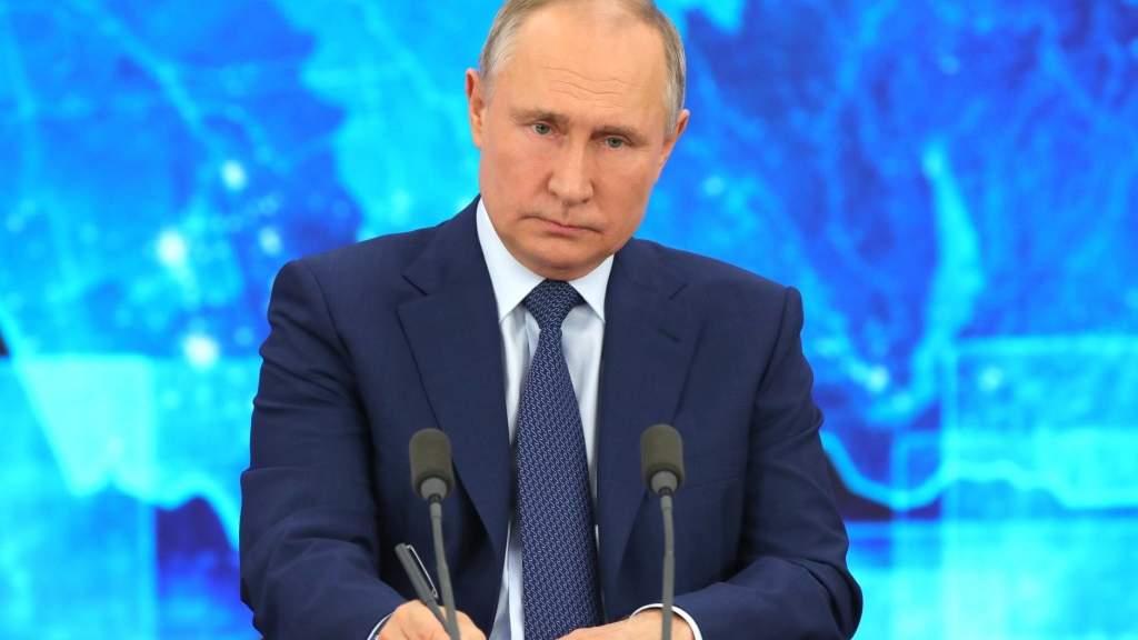 Россия не бросит Донбасс, заявил Владимир Путин