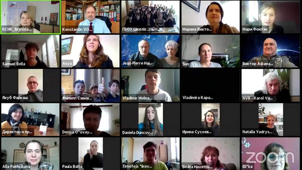 Студенты в Прешове интересуются историей освоения космоса