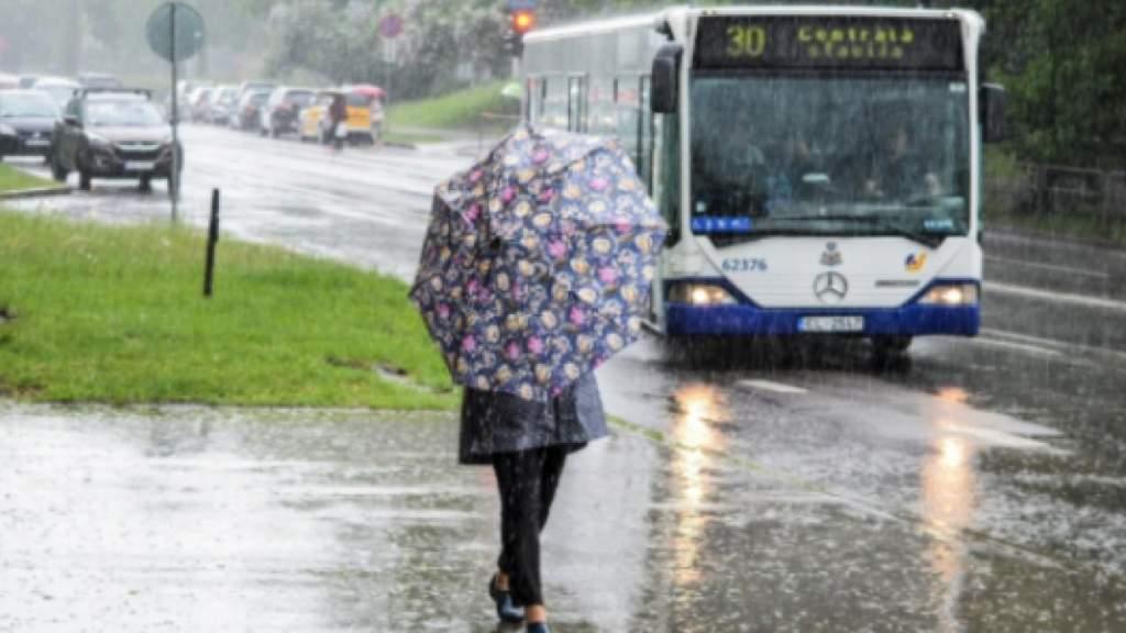 «Будет мокро!»О погоде на субботу в Латвии