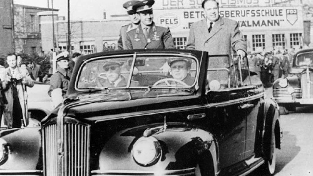 Гагарин помог немцам поверить в будущее