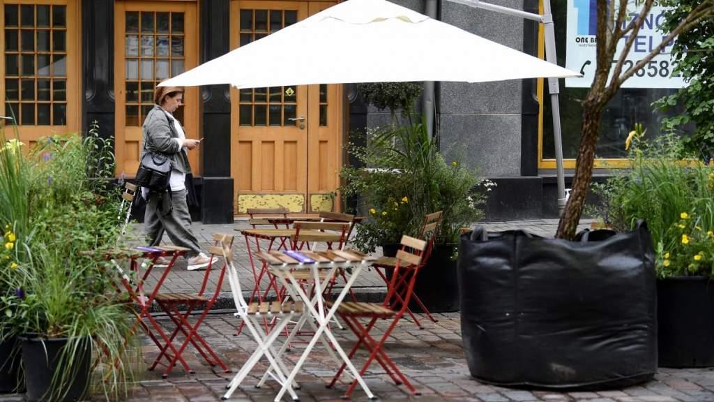 В Риге будет проведен эксперимент по установке зон отдыха у мест торговли