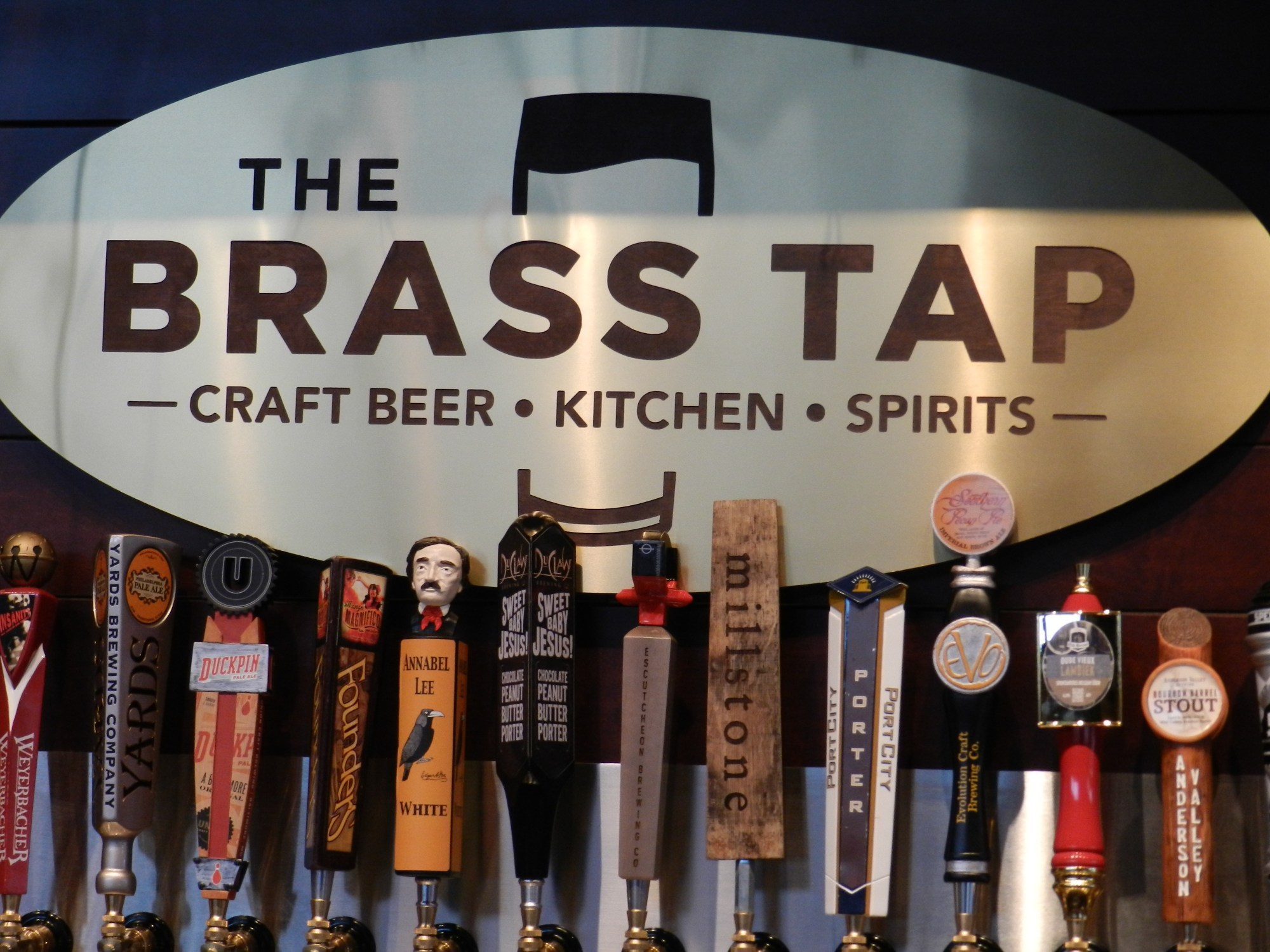 Brace Yourself Brass Tap Opens in Baltimore With 60