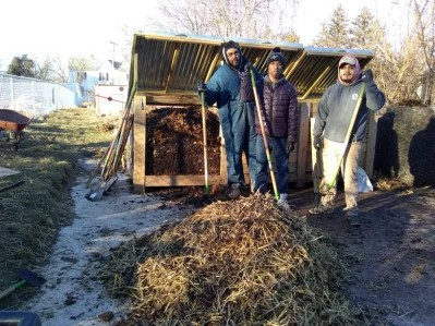Baltimore Compost Collective team