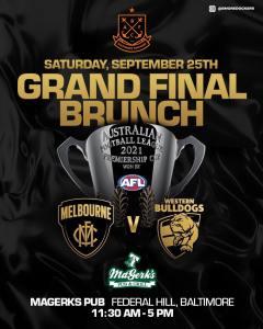 Grand Final Brunch poster