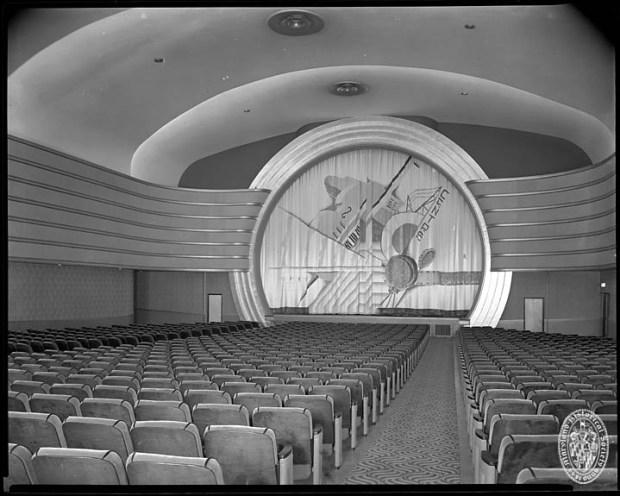Interior of the Centre Theatre, ca1939