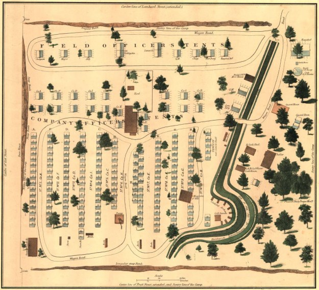 Map of Camp Patterson Park
