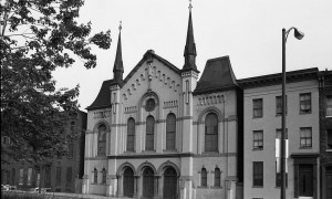 Photograph of Carter Memorial Church by William H. Potts, 1975. Courtesy University of Baltimore, GBC.12.04.38.02.030.