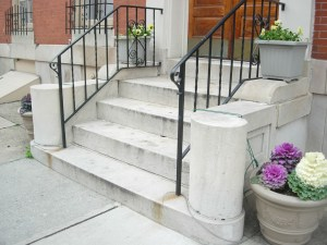 Photograph of marble steps,  January 26, 2007. Flickr/monceau. (CC BY-NC-SA 2.0)