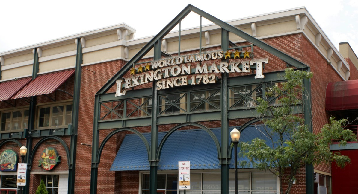 Lexington Market Entrance
