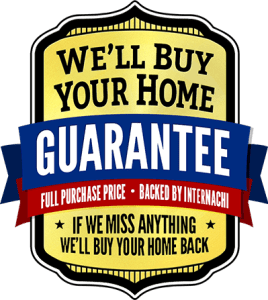 Home Buy Back Guarantee, Backed by InterNACHI