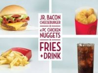 Wendy's: Giant Jr. Bacon Cheeseburger $5 Meal Deal