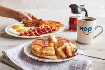 Pancake offer at IHOP