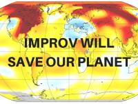 "Celebrate Mother Earth at ""Improv Will Save Our Planet!"""