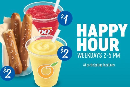 Dairy Queen happy hour