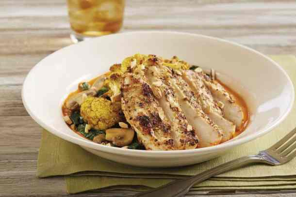 Morrocan Chicken from BJ's Brewhouse
