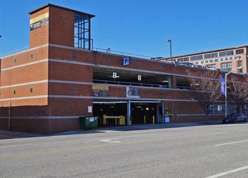Baltimore Little Italy Garage Baltimore Parking  Find