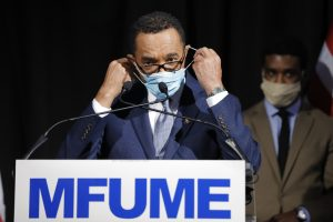 Kweisi Mfume discusses Maryland 7th Congressional District and future