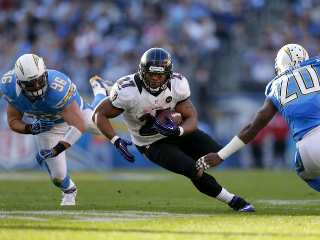 """Ravens regular-season moment No. 5: """"Hey diddle diddle, Ray Rice up the middle"""""""