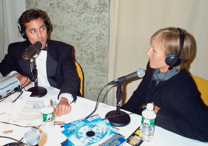 The night that Martina Navratilova hid from the SI crowd in Nestor's studio at Madison Square Garden