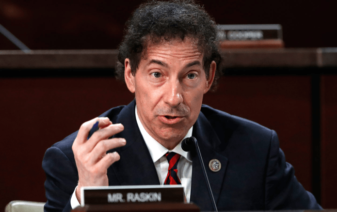 Raskin recaps his Fauci COVID questions and discusses fair elections in America