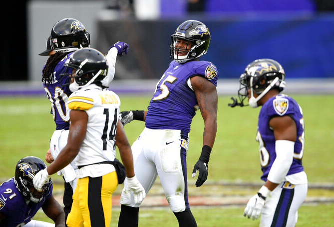 Six more Ravens go to COVID-19 list, Bryant added to 53-man roster