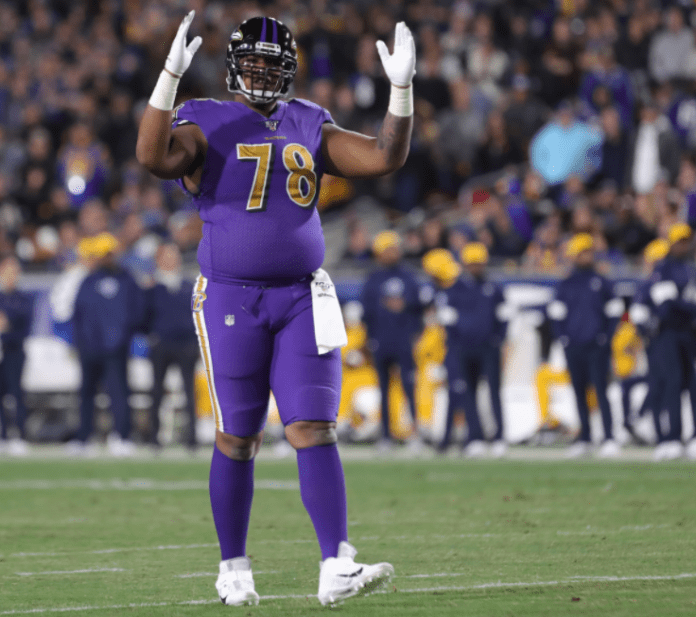 Why would the Ravens trade Orlando Brown Jr. this offseason?