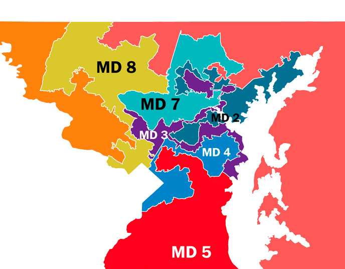 The real costs of gerrymandering the Maryland electoral map
