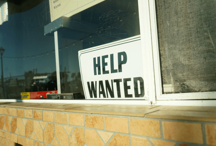 Help Wanted: A sign of the times?