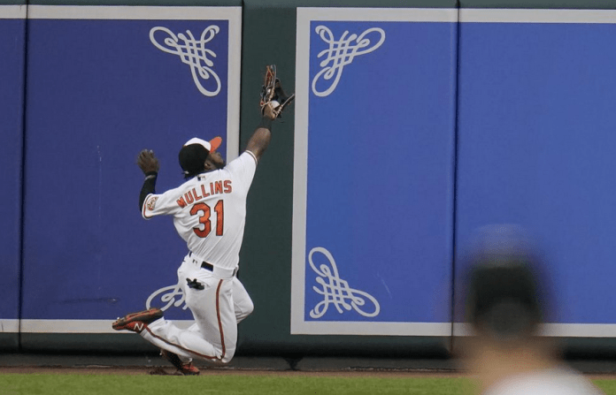 Orioles' Mullins just 10th among AL outfielders in first All-Star voting update
