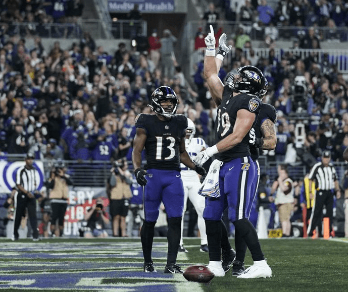 """Ravens' Andrews plans on """"going off"""" for National Tight End Day on Sunday"""