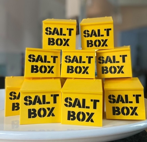 Stack of Saltbox Cellars