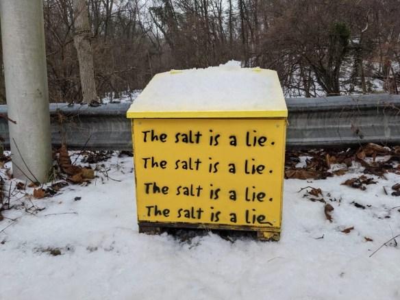 The Salt Is a Lie Box