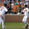 J.J. Hardy and Jonathan Schoop - Baltimore Orioles