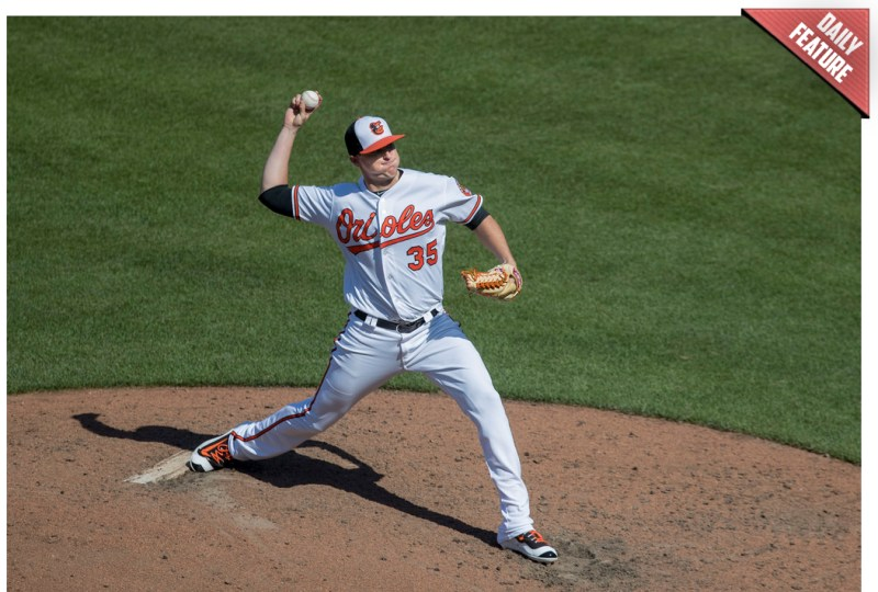 Brad Brach - Baltimore Orioles relief pitcher