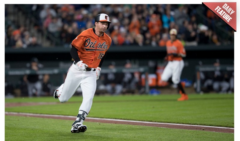 Trey Mancini - Baltimore Orioles outfielder