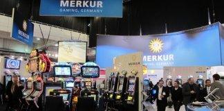 Merkur Gaming stand