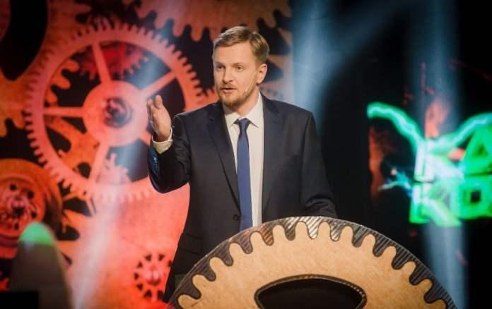 Der Komiker Paulius Ambrazevičius