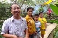 På hjemmebesøk i. Mekongdeltaet