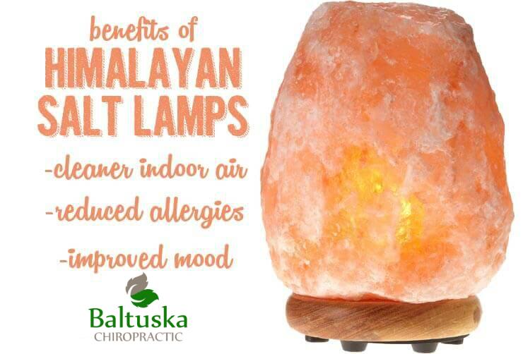 Himalayan Salt Lamps Create Negative Ions for Positive