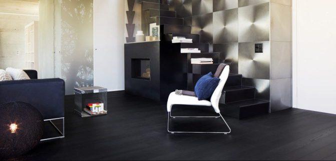 donkere en lichte houten vloeren