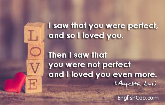 kata kata cinta bahasa inggris