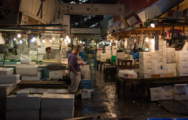 02 août 2016 : Marché au poisson de Tsukiji